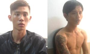 Cặp đôi liên tiếp gây 5 vụ cướp trong đêm ở Sài Gòn