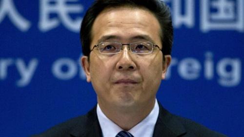 Phát ngôn viên Bộ Ngoại giao Trung Quốc Hồng Lỗi. Ảnh: Presstv