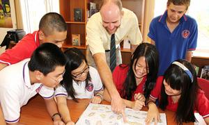 Cải thiện tiếng Anh cho học sinh trong hè