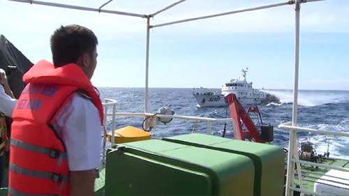 c tàu CSB của ta đã cơ động vòng tránh, đảm bảo an toàn trước sự tấn công của các tàu Trung Quốc.