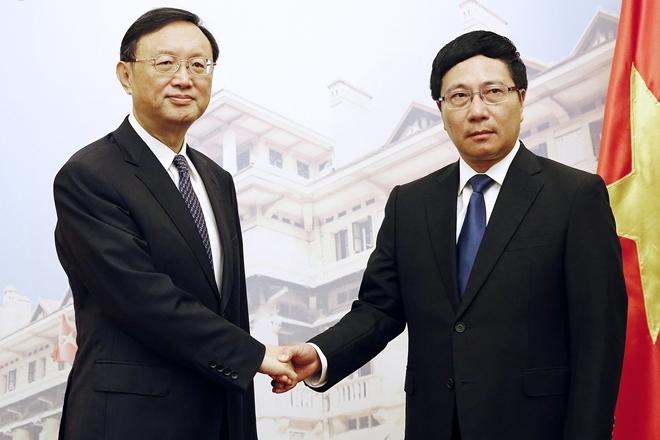 Quan chức ngoại giao cấp cao Trung Quốc đến Việt Nam