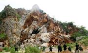 Giám đốc làm liều khiến hai công nhân mỏ đá bị vùi lấp