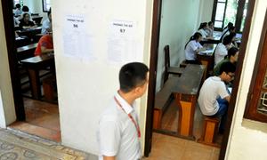 Lính nghĩa vụ bị đình chỉ do mang điện thoại vào phòng thi