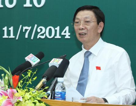 A1; Theo Chủ tịch Hà Nội Nguyễn Thế Thảo, Hà Nội sẽ mở rộng thị trường, tránh phụ thuộc vào Trung Quốc (ảnh Minh Minh)
