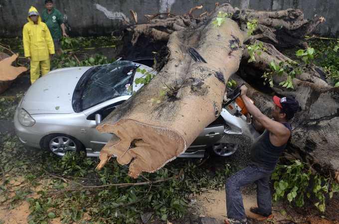 Philippines tan hoang vì bão