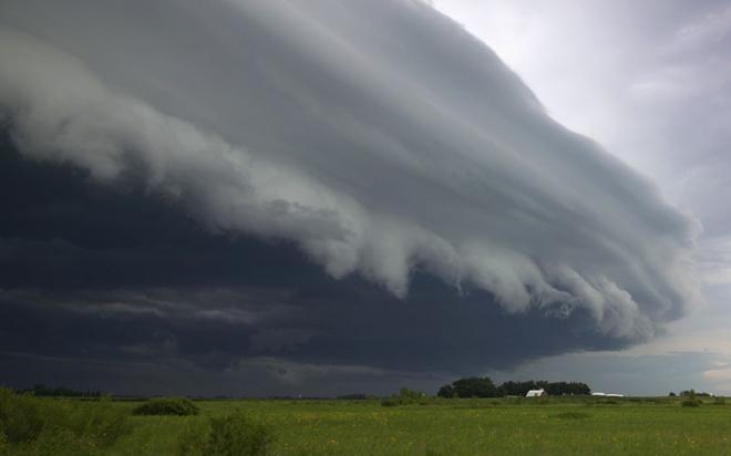 Những đám mây có hình thù kỳ dị