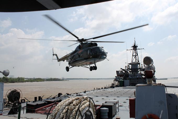 Hải quân Việt Nam sẵn sàng bảo vệ Tổ quốc