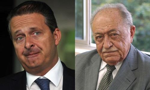 Ông Eduardo Campos, ứng viên tổng thống Brazil mới qua đời ở tuổi 49, và ông ngoại ông,
