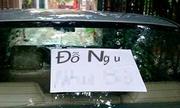 Những kiểu trừng phạt xe hơi đậu sai chỗ chỉ có ở Việt Nam