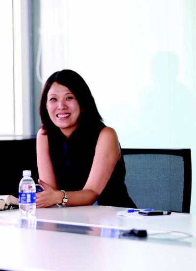 Cô Ellie Yang - chuyên gia tư vấn của i-IVY từng có kinh nghiệm tuyển sinh vào University of Pennsylvania.