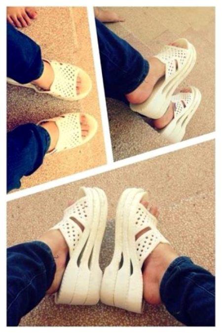 Giày cao gót phiên bản Việt.