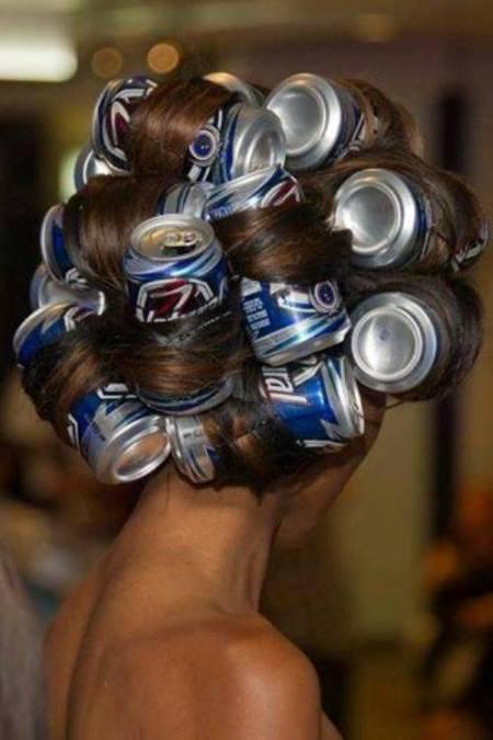 Chiêu uốn tóc đơn giản.