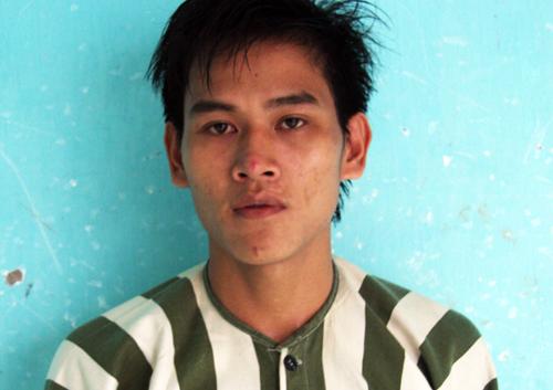 Nghi phạm Nguyễn Hùng Minh bị bắt giữ. Ảnh: An Nhơn