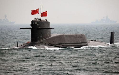Một tàu ngầm của Trung Quốc. Ảnh: The Maritime Executive