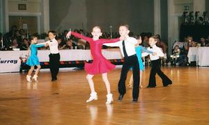 Thí sinh nhí hào hứng thi nhảy tại Mỹ