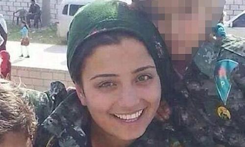 Nữ chiến binh người Kurd Arin Mirkin