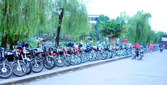 Dàn Honda 67 tụ tập tại Hà Nội