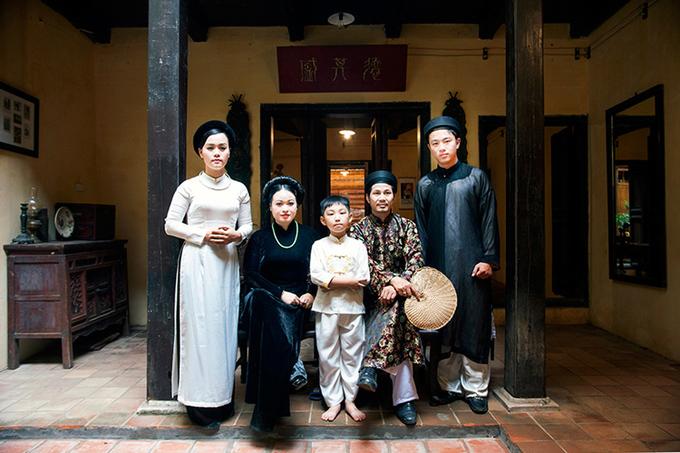 Nếp sống xưa của gia đình trung lưu Hà Nội