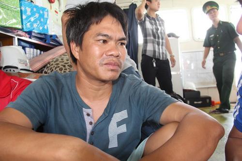 Thuyền trưởng Nguyễn Quyết Thắng mong muốn vụ việc sớm được cơ quan kết luận để còn ổn định, trở về với công việc. Ảnh: Hoàng Trường