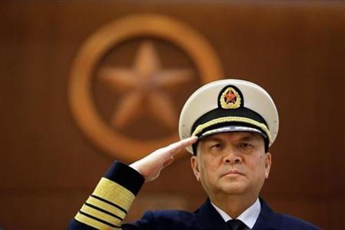 Đô đốc Wu Shengli, tư lệnh hải quân Trung Quốc