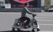 Ảnh động hài hước: Khi xe chạy bằng chân