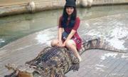 Đến cá sấu còn sợ chị em