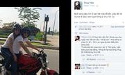 Công Vinh và Thủy Tiên chạy Ducati gây cơn sốt