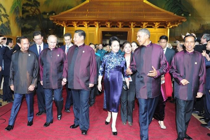 Thời trang APEC qua các năm