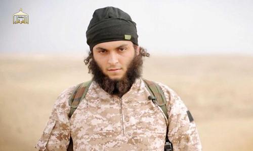 Chiến binh IS được xác định là công dân Pháp có tên Maxime Hauchard. Ảnh: AFP