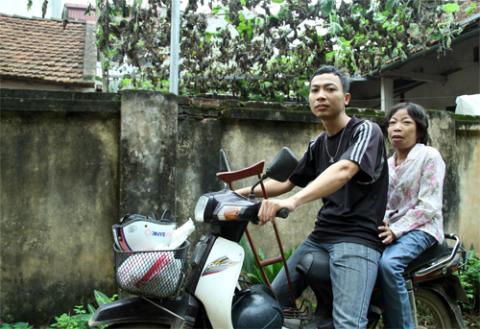 Anh Vượng và chị Châu Loan những ngày hạnh phúc.