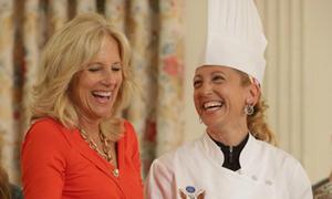 Bếp bánh Nhà Trắng có 'nữ tướng' đầu tiên