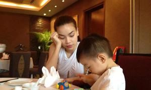 Hồ Ngọc Hà gọi Subeo là 'người đàn ông duy nhất mẹ yêu'