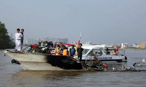 Tàu cánh ngầm TP HCM - Vũng Tàu chạy trở lại