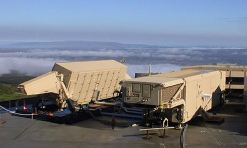 Hệ thống Radar Giám sát Cơ động/Hải Lục quân (AN/TPY-2). Ảnh: Wikimedia.
