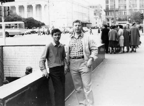 ÔngRolf Huebner và ông Nguyễn Đức Quí những ngày ở Moscow