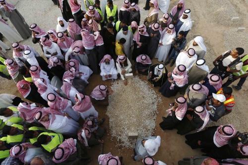 Quốc vươngAbdullah hôm nay được chôn cất tại nghĩa trang
