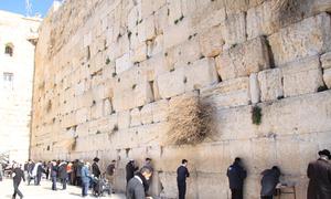 Bức tường than khóc, nơi linh thiêng của người Do thái