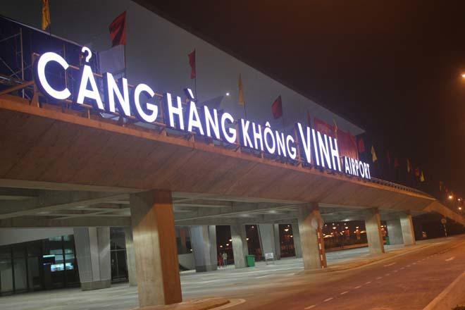 Nhà ga hàng không quốc tế Vinh đi vào hoạt động