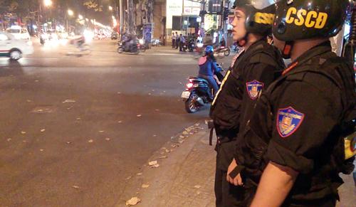 Chốt CSGT  được lập tại giao lộ Lê Hồng Phong  An Dương Vương, trong đêm CSGT đã xử lý nhiều trường hợp có dấu hiệu say xỉn. Lực lượng CSGT cũng được trang bị camera ghi hình đối với những người có dấu hiệu uống rượu bia, không chấp hành có biểu hiện cản trở để làm căn cứ xử lý.