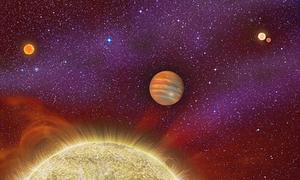 Hành tinh xa xôi có 4 Mặt Trời