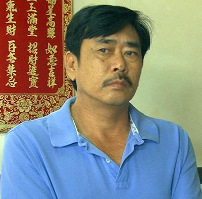 Quách Hữu Kỳ bị bắt giam tháng 7/2014. Ảnh: Cửu Long