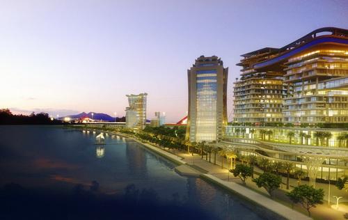 """Toàn cảnh dự án """"Cải tạo cảnh quan và phát triển đô thị ven sông Đồng Nai"""" sau khi hoàn thành."""