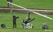 Mỹ bắt người đáp trực thăng xuống tòa quốc hội