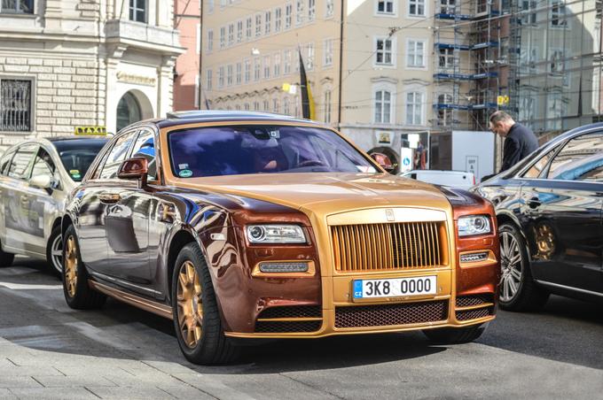 Rolls-Royce Ghost độ Mansory hàng độc