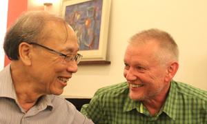 Cuộc hội ngộ của đôi bạn Việt - Đức thất lạc nhau 26 năm