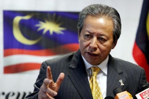 Ngoại trưởng Malaysia Anifah Aman. Ảnh: The Star.