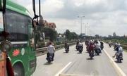 Xe giành khách kiểu 'xã hội đen' tuyến Hà Nội - Hải Phòng
