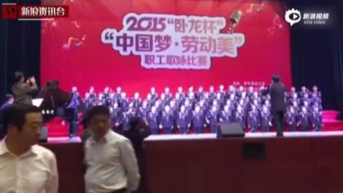 Sập sân khấu hợp xướng 80 người