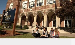 Học bổng 50% Trung học CATS Academy Boston, Mỹ
