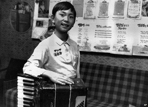 Kim Jong-chul năm1988, khi lên 6 tuổi. Ảnh: AP